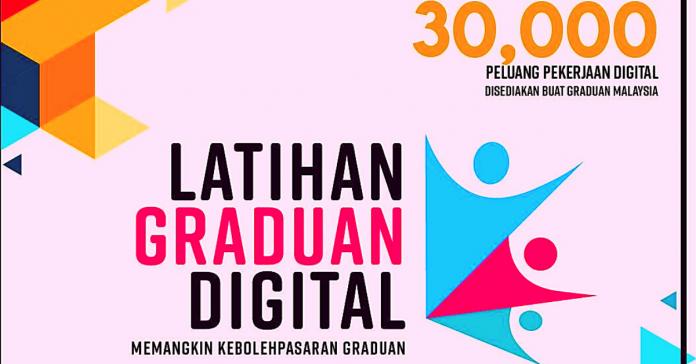 Latihan Graduan Digital Sedia RM800 Elaun Selama 3 Bulan